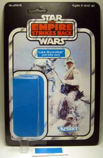 VINTAGE STAR WARS FIGURES Resto Kit ESB LUKE HOTH GEAR