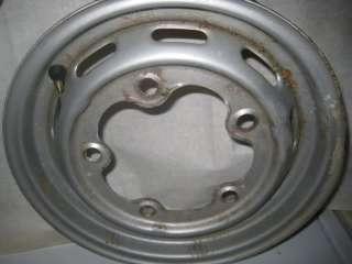 Vintage VW Volkswagen steel wheel rim 5 lug bolt 15 15 inch