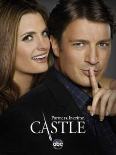 Poster   Castle, abc, Nathan Fillion, Stana Katic, 12 x 8 (3)