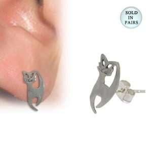 Kitty Cat Ear Studs   ST107 Electronics
