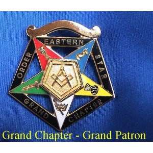 OES Order Eastern Star Worthy Grand Patron Jewel: Everything Else