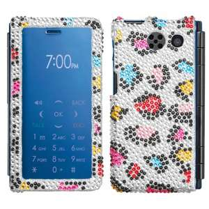Colorful Leopard Crystal Bling Hard Case Cover for Sanyo Innuendo 6780