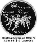 coins 9 10 11 12 of series 3 early canadian sports the coins are in