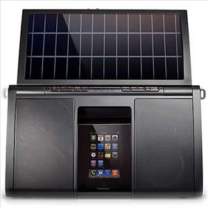 Eton Soulra XL Solar Powered Dock for iPod and iPhone 750254805509