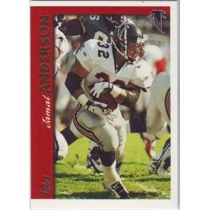 1997 Topps Football Atlanta Falcons Team Set Sports