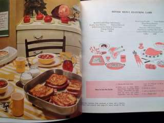 1959 GENERAL FOODS COOKBOOK W/ HANDWRITTEN RECIPES   VTG MID CENTURY