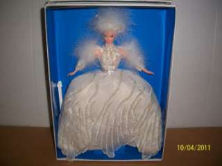 BARBIE, MATTEL,1994 COLLECTIBLE SNOW PRINCESS DOLL, LIMITED EDITION
