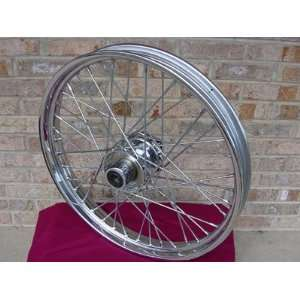 CUSTOM CHOPPER FRONT WHEEL FOR HARLEY FXST SOFTAIL 1984 99 Automotive