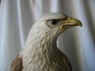 Large CYBIS Porcelain American Bald Eagle Figurine