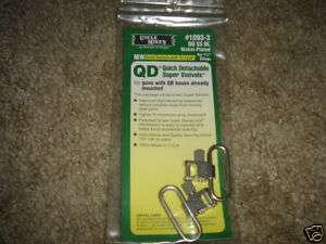 UNCLE MIKES 1093 3 QD SS BL SUPER SWIVELS 1 1/4 SLINGS