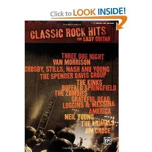 Classic Rock Hits For Easy Guitar (Easy Guitar Tab Edition