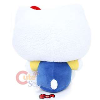 Hello Kitty Plush Doll Japan Sanrio Imported 20XL Blue