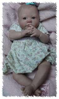 Reborn VIOLET ooak doll lifelike art ARTIST adorable Baby GIRL