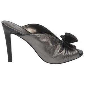 NIB Carlos Santana CLASSY Dress Pump Sandal Heel Pewter