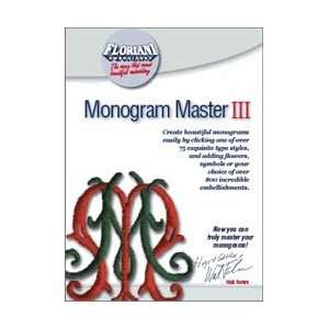 Floriani Monogram Master III Embroidery Software Arts