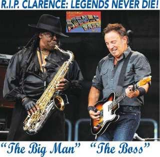 Shirt   RIP Clarence Clemons   Clemens  Tribute A3058