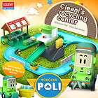 robocar poli cleani s recycling center play set station and