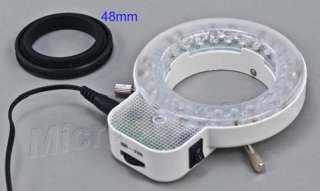 54 LED Ring Light for Stereo Microscope w 48mm Thread