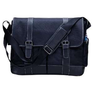 High End Elegant Tablet / Laptop Messenger Flapover Bag