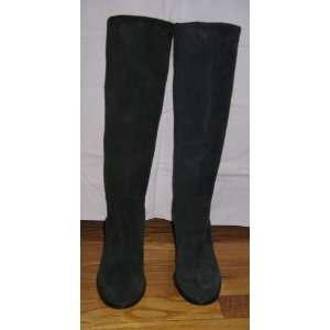 Michael Kors Black Suede Boots, size 6M
