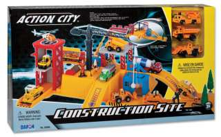 REALTOY ACTION CITY CONSTRUCTION SITE PLAY SET