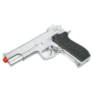 Smith & Wesson 4505 Airsoft Pistol   Silver Sports