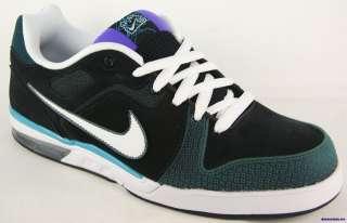 NIKE ZOOM CONVERGE 6.0 Mens Black Purple Skate Shoes Size 11.5