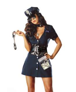 Corrupt Cop Police Woman Adult Halloween Costume