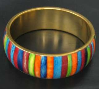 INDIA TIBET STYLE COPPER YAK BONE BANGLE