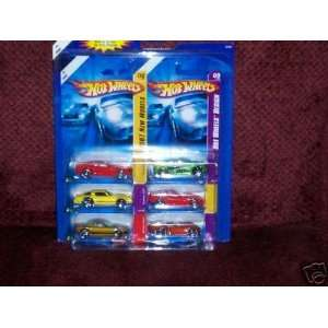 Valentines Day 6 Pack Die Cast Car Exclusive Gift Set Toys & Games