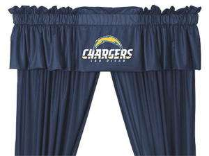 NEW San Diego Chargers Jersey Window Valance