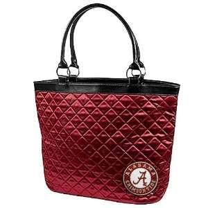 Alabama Crimson Tide Crimson Quilted Tote Bag
