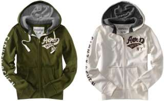 Aeropostale AERO men Full ZIP UP athletic logo hoodie jacket XS,S,M,L