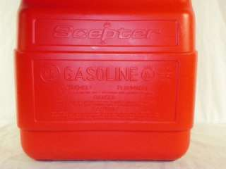 Moeller Scepter 6.6 Gallon Gas Tank Gauge Fuel Boat Marine Gasoline