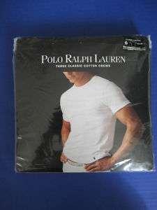NWT MEN Polo Ralph Lauren 3 Crew Neck/ V Neck T Shirts