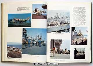 USS FRANKLIN ROOSEVELT CVA 42 CRUISE BOOK 1958 1959