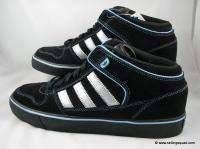 ADIDAS CULVER VULC MID MENS SKATE SHOES G09017 BLACK SILVER BLUE