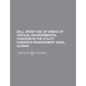 Dall sheep use of areas of critical environmental concern