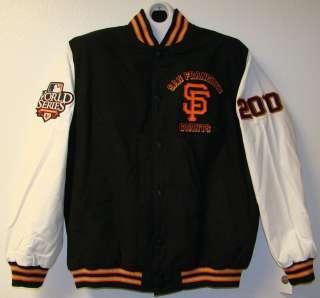San Francisco Giants World Series Champs Mens Jacket M