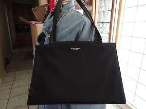 Kate Spade Black Nylon Sam Tote Bag 100% Authentic Pre Owned! Very