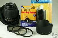 Nikon 55 200mm LENS KIT 55 200 DX F D40 D40X D60 D80 0018208021567