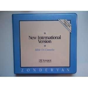 NEW INTERNATIONAL VERSION Bible on cassette old testament (Old