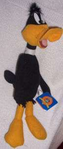 DAFFY DUCK ~ 1997 PLUSH CHARACTER NEW WITH TAG