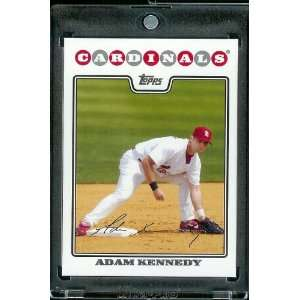 2008 Topps # 542 Adam Kennedy   St. Louis Cardinals   MLB Baseball