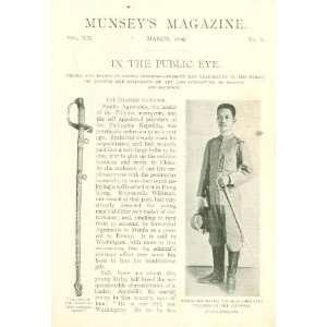 1899 Emilio Aguinaldo President Philippine Republic