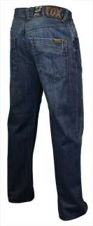 Fox Racing Mens Relaxed Fit Duster Denim Jeans $54.50