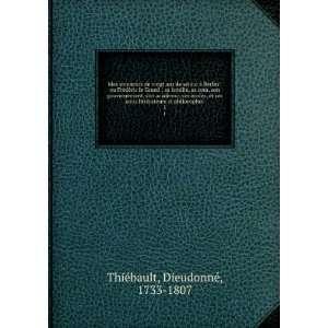 amis liéras e philosophes. 1 Dieudonné, 1733 1807 hiÃ