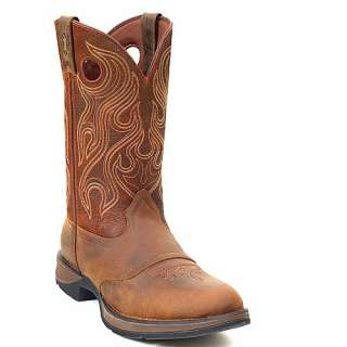 Mens DURANGO Brown Saddle Western Boots DB5474