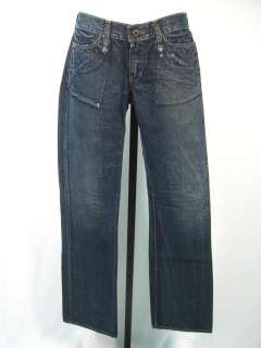 ROGAN Dark Blue Denim Jeans Pants Size 26