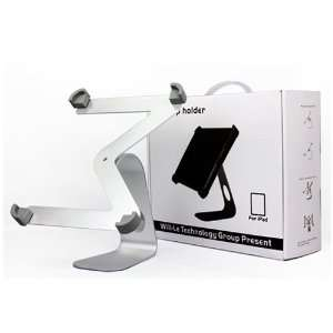 Desktop Holder Stand with Anti slip Rubber   iPad 2 Stand Electronics
